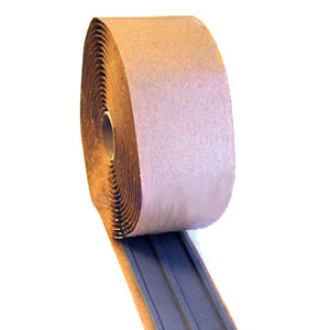 2-1/2 x 3/16 Thick x 20 ft. 3-Bead High-Temp. Butyl Rubber Seal Tape - 2-1/2 in. Wide Triple Bead Sealing Tape for Curbs, Hatches, Sills, Vents. High Temperature Self Adhering Double-Sided Butyl Sealant. 2-1/2 in. Wide X 3/16 in. thick X 20 foot roll. Price/Roll. (6 rolls/case, order full cases for discounts)