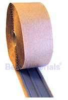 2-1/2 x 3/16 Thick x 20 ft. 3-Bead High-Temp. Butyl Rubber Seal Tape