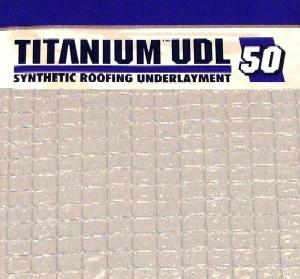 Titanium Udl 50 Roofing Underlayment 10 Sq Roll 4x256 Ft