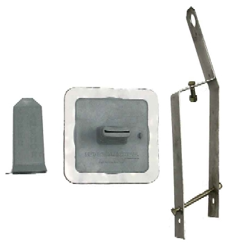 Metal Roofing/Purlin Safety Anchor & Flashing Kit - Super Anchor #2811 Metal Roofing/Purlin Safety Anchor & Flashing Kit. Price/Set.