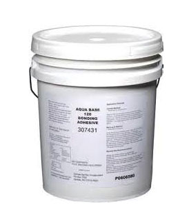 Aqua-Base Bonding Adhesive For EPDM/TPO/PVC (5G) - WeatherBond Aqua-Base bonding adhesive #120. For EPDM/TPO/PVC. Compatible with many substrates. Very low VOC, meets SCAQMD and all regions. Non-flammable. 5G/Can. Price/Can. (special order; shipping leadtime 1-3 weeks).