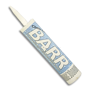 Barr FP Flash & Patch Waterproofing, Gun Grade,  10.1 Oz. Tubes, 24 - ChemLink f1107, BARR fr, flash and patch gun-grade waterproofing, 99% solids low voc. 10.1 oz. Tubes. 24 tubes/case. Price/case. Rebranded by Chemlink. The replacement is F1117 5 Gallon, NovaLink™ WM Liquid Waterproof Membrane.