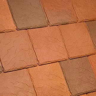 Bellaforte synthetic slate roof field tiles sedona blend 10 for Davinci synthetic slate price