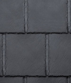 Bellaforte Synthetic Slate Roof FIELD Tiles, SLATE BLACK (10) - Bellaforte Synthetic Slate Roof FIELD Tile, SLATE BLACK Color. 10 Pieces/Bundle. Price/Bundle. (special order item; 3-4 week leadtime; 20% restock fee; less than 12 bundles not returnable; free sample available)