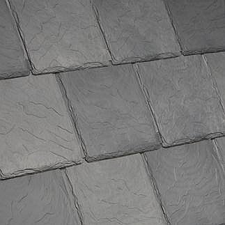 Bellaforte Synthetic Slate Roof Field Tiles Villa Blend 10