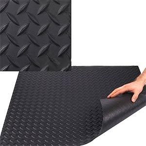 Roof Walkway Economy Pad Black Epdm Diamond Pattern 0