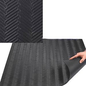 Roof Walkway Pad Black Epdm Herringbone Pattern 0 17x30x30
