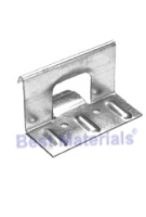1 in. Snap-Lock Panel Clips, 3-1/2 Long, 2-Hole, 18 Ga Galv. (200)