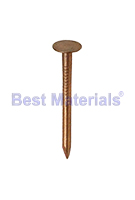1-3/4 in. Copper Roofing / Slating Nails, SMOOTH Shank (1 Lb)