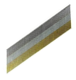 2-1/2 x 15 Ga 304 Stainless DA Collated Finishing Nails, 8000 - 2-1/2 in. x 15 Gauge 304 Stainless Steel Senco Type