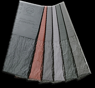 Plastic roof tiles plastic roofing shingles hurricane for Davinci synthetic slate price