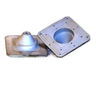 0 Deck Mate Dm 0 Gray Epdm Pipe Flashing Boot 1