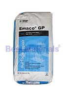 Emaco GP, Fast Setting Waterproof Repair Mortar (50lb)