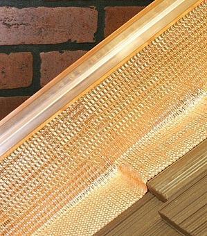 Flexflash HP Copper Flashing on Chimney