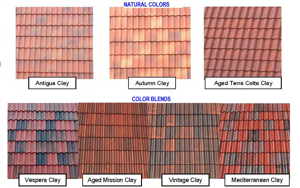 Mission Tile Colors