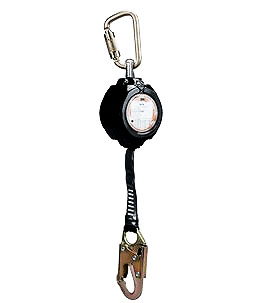 MS Series Self-Retracting Lanyard, Alum. Housing, DISCONTINUED - 3M Brand MS Series Self-Retracting Lanyard, 11 ft. Polyester Web, Forged Steel Snap Hook, Aluminum Housing, 310 lb. Weight Capacity. Price/Each. DISCONTINUED