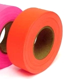 1-3/16 inch X 150 ft. Orange Flagging / Surveyors Tape