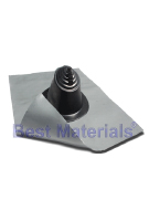 #3 Residential Lead Base Master Flash Flashing, Black EPDM