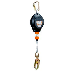 RLD Self-Retracting Lanyard, 10 ft. Galvanized Cable DISCONTINUED - 3M Brand RLD Series Self-Retracting Lanyard, 10 ft. galvanized cable, 310 lb. weight capacity. Price/Each.