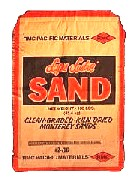 monterey sand, cleaned and dried