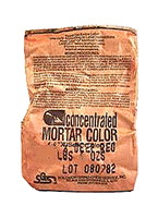 Solomon Mortar Color,  #33H BROWN, 2 Lb. Bags (case of 12)