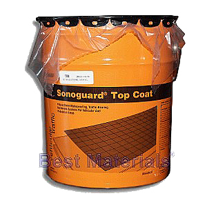 MasterSeal TC 225HT (Sonoguard Top Coat), Tintable (5G) - SONOGUARD TINTABLE TOPCOAT (TINT-BASE). 5 GALLON PAIL. PRICE/PAIL. (215 g/L VOC, cannot shipt to S. Calif SCAQMD areas; UPS shipment only). Requires TWO Color Packs per 5-gallon pail, not included. See detail view for more notes.