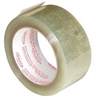4 in. x 72 Yards (96mm x 66m) Clear Packaging Tape