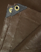 10 X 10 Foo Super Duty Brown Tarp (1)