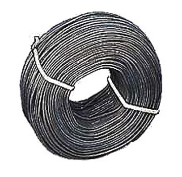 Tie Wire, 380 Feet, 16.5 Gauge - STEEL TIE WIRE, 16.5 GAUGE, BLACK ANNEALED, 2.2 LB ROLL. APPROX 380 FEET/ROLL. PRICE/ROLL.