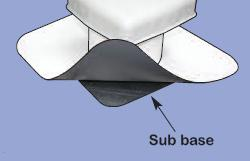 TPO Roof Vent with Sub Flashing