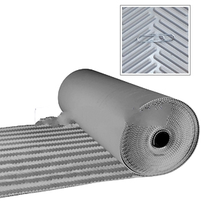 TPO Walkway Pad, GRAY, Herringbone, 30 in. x 50