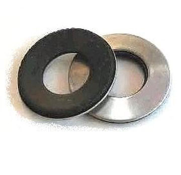 1 X 2 in. Galv. EPDM Bonded Sealing Washer (500) - 1 inch ID x 2 inch OD (ID fits 1-in. fastener) 20 Gauge Hot-Dip Galvanized Steel with Bonded EPDM Rubber Washer. 500/Box. Price/Box. (special order item)