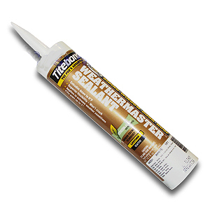 WEATHERMASTER SIDING SEALANT, CLEAR,  10.1 OZ (12 tubes) - WEATHERMASTER HIGH-PERFORMANCE POLYETHER SIDING WINDOW AND DOOR SEALANT, CLEAR COLOR, 10.1 OZ TUBES. 12 TUBES/CASE. PRICE/CASE. (Unfortunately this product currently has a lengthy lead time for shipment).