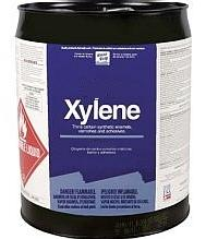 Xylene Solvent, 5 Gallon Can (Truck Shipment Only) - Xylene Solvent / Cleaner / Thinner, High Purity. 5 Gallon Can. Price/Can. (Flammable / Hazmat; Truck Shipment Only; Price Subject to Change; Call for current market price)