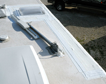 repaired rv roof